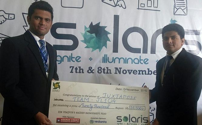 IIM Udaipur – Solaris Event