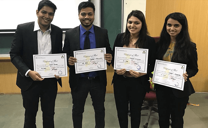 IIM Amritsar HR competition: HR Saga held at the IIM Amritsar campus
