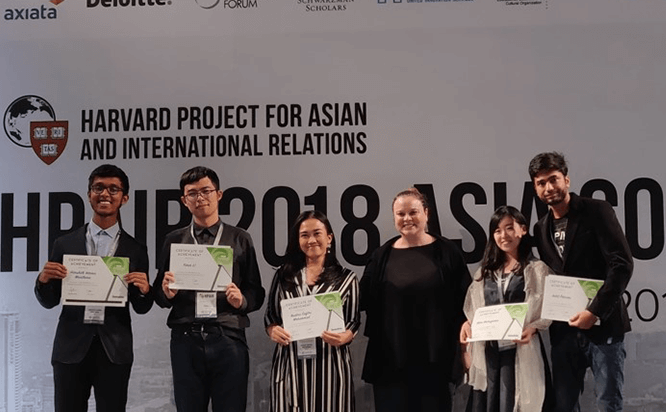 Deloitte Impact Challenge 2018 at Harvard Project for Asian and International Relations (HPAIR)' 2018
