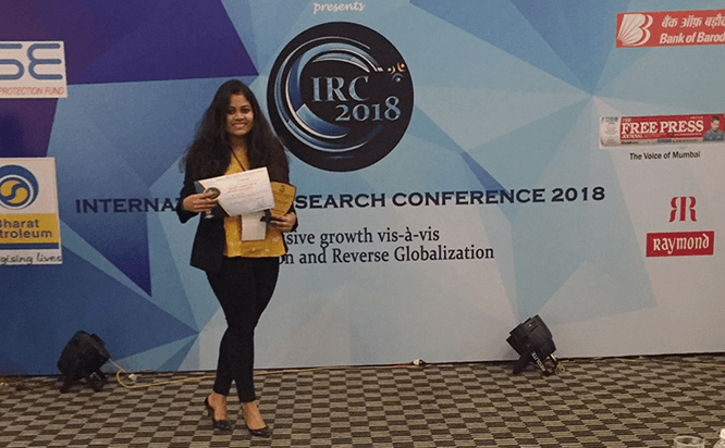 Best Research Paper Award - JBIMS International Research Conference 2018