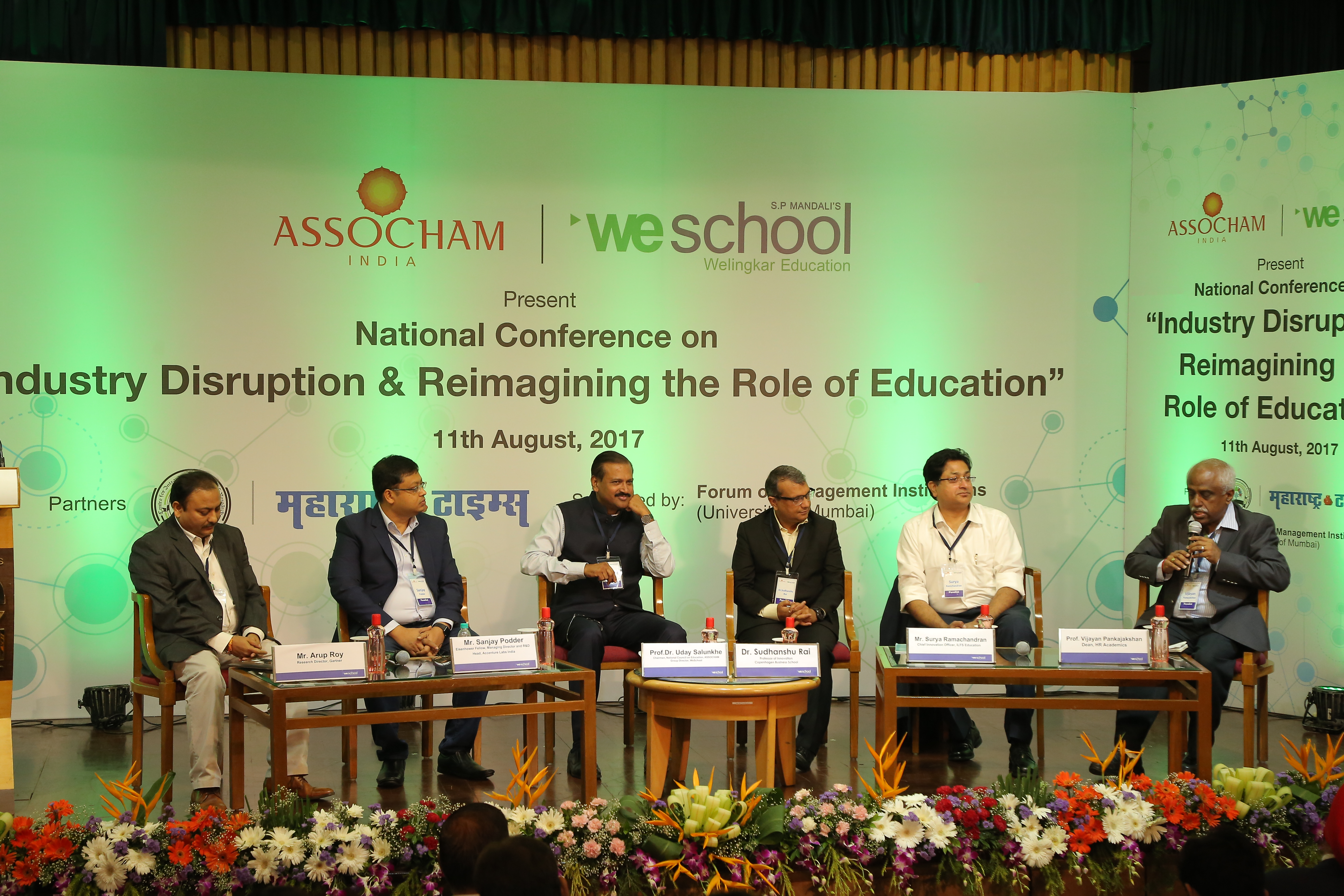 The conference 'Industry Disruption & Reimagining the Role of Education' organized by WeSchool and ASSOCHAM focused on the inclusion of technology in education