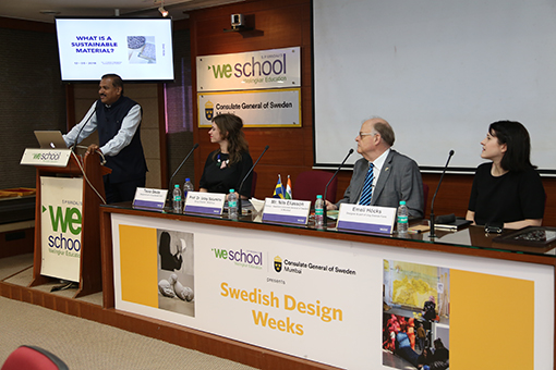 The Consulate General of Sweden in Mumbai in cooperation with WeSchool inaugurated the Ung Svensk Form design exhibition in Mumbai