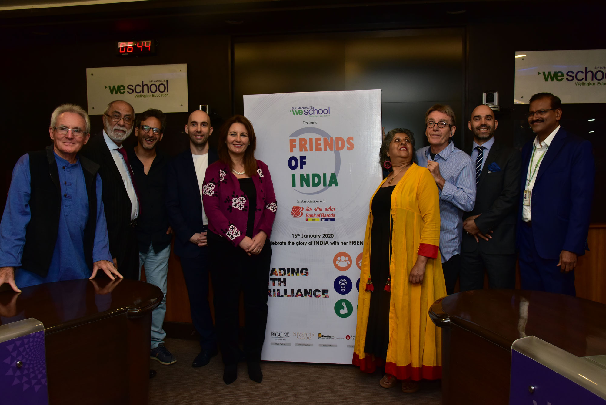 Bollywood and Television stars support 'Friends of India' initiative by S.P. Mandali's WeSchool