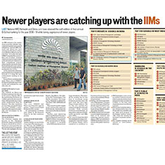 Newer players are catching up with the IIMs