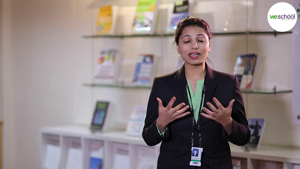 WeSchool - Nidhi Sachev_PGDM E-Business_Mumbai
